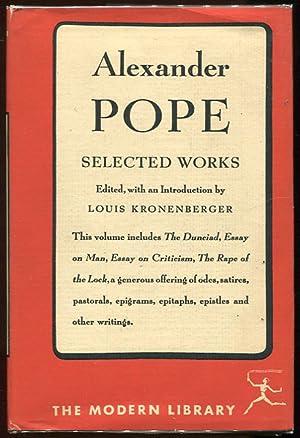 Selected Works: Pope, Alexander