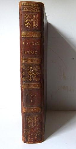 An Essay Concerning Human Understanding Vol 1 John Locke