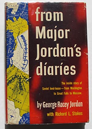 from Major Jordan's diaries: Jordan, George Racey