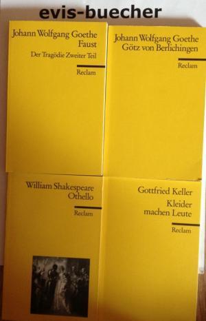4 TB, Faust,Der Tragödie Zweiter Teil,, Götz: Shakespeare William, Gottfried