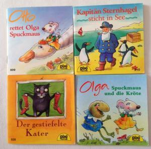 Konvolut 4 Pixi-Bücher: Otto rettet Olga Spuckmaus: PIXI