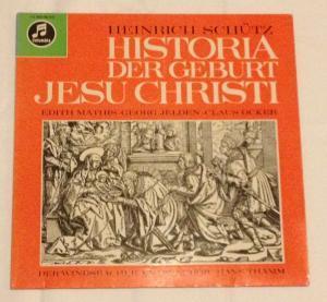 HISTORIA DER GEBURT JESU CHRISTI ( LP: Heinrich Schütz