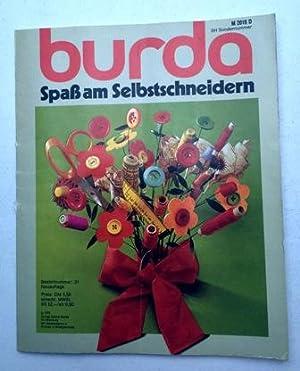 Burda Spaß am Selbstschneidern 1975 Broschiert SH: Burda, Aenne Hrsg: