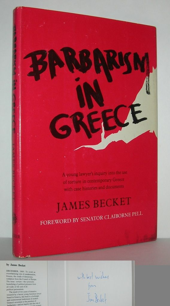 BARBARISM IN GREECE A Young American