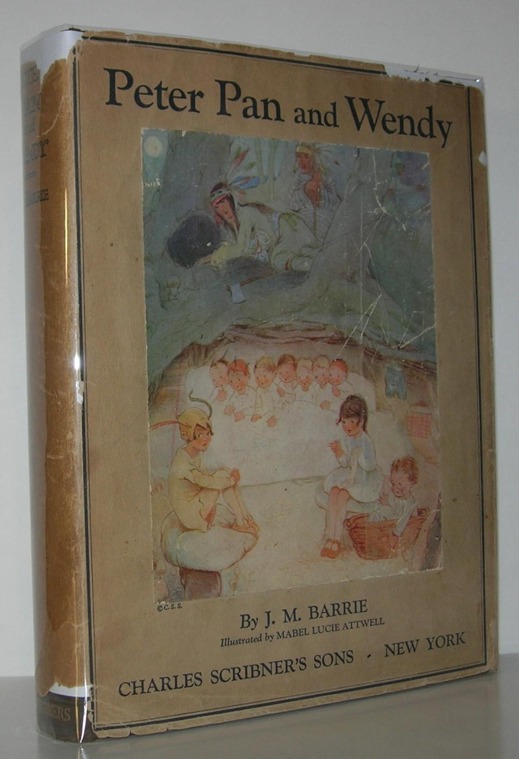 PETER PAN AND WENDY: Barrie, J. M. - Illustrated by Mabel Lucie Attwell