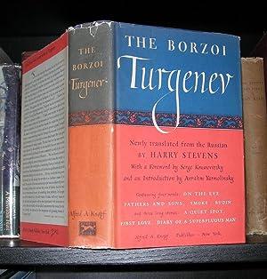 THE BORZOI TURGENEV Fathers and Sons, Smoke,: Turgenev, Ivan; translated