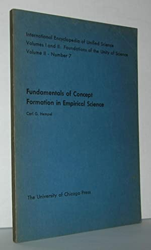 FUNDAMENTALS OF CONCEPT FORMATION IN EMPIRICAL SCIENCE: Hempel, Carl G.