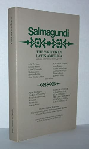THE WRITER IN LATIN AMERICA, SALMAGUNDI No.: Arnheim, Rudolf, George