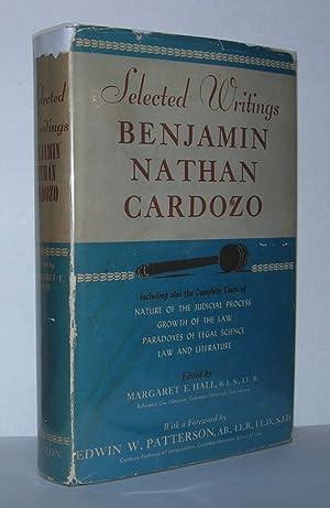 SELECTED WRITINGS BENJAMIN NATHAN CARDOZO: Cardozo, Benjamin
