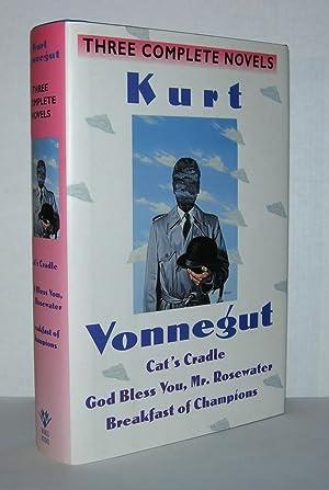 THREE COMPLETE NOVELS Cat's Cradle; God Bless: Vonnegut, Kurt