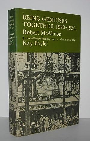 BEING GENIUSES TOGETHER 1920-1930: McAlmon, Robert &