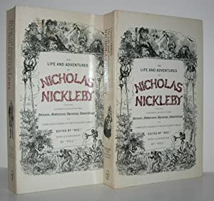THE LIFE AND ADVENTURES OF NICHOLAS NICKLEBY: Dickens, Charles &