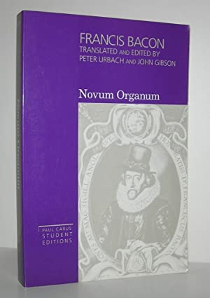 bacon novum thesis Experimentum crucis as a scientific experimentum crucis as a scientific controversy: of his work novum organum (1620), bacon tried to explain.
