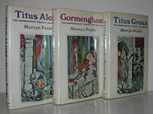 THE GORMENGHAST TRILOGY Gormenghast, Titus Alone, and: Peake, Mervyn; Illustrations