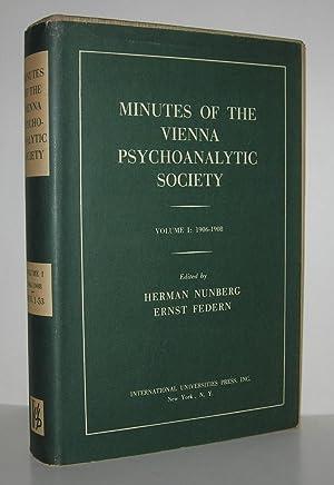 MINUTES OF THE VIENNA PSYCHOANALYTIC SOCIETY Volume: Nunberg, Herman &