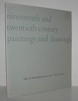 NINETEENTH AND TWENTIETH CENTURY PAINTINGS AND DRAWINGS: Marc De Montebello