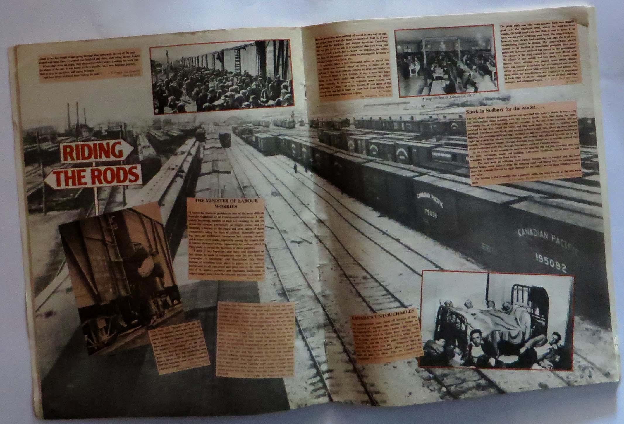 Scrapbook paper canada - Canadiana Scrapbook The Depression Years Canada In The 1930 S Mennill