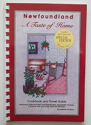 Newfoundland A Taste of Home : Cookbook: Crocker, Rosalind