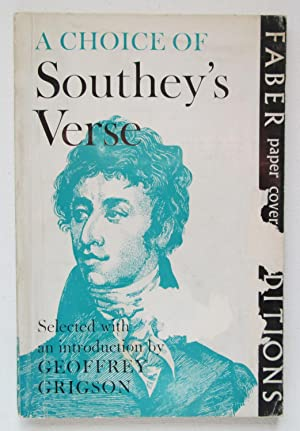 A Choice of Robert Southey's Verse