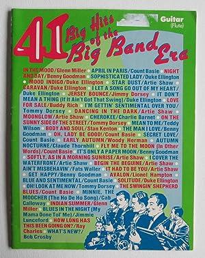 41 Big Hits of the Big Band Era (Guitar, Flute): Cappuccio, Gerry (Editor)