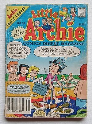 Little Archie Comics Digest Magazine No. 38