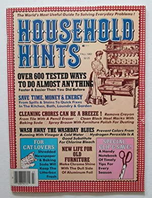 Household Hints - Fall 1982 : Over 600 Tested Ways To Do Almost Anything