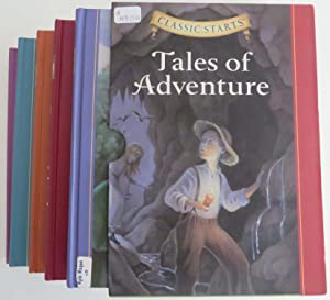Classic Starts - Tales of Adventure (Box Set includes The Adventures of Tom Sawyer, The Call of t...