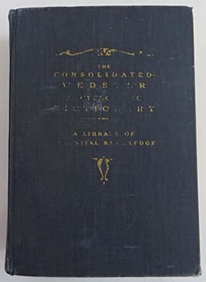 The Consolidated-Webster Encyclopedic Dictionary