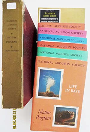 National Audubon Society Nature Program - 6 Booklets in Slipcase