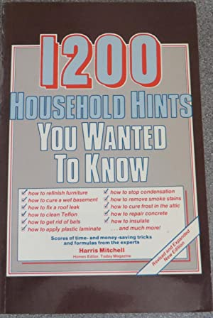 1200 Household Hints You Wanted To Know