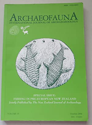 Archaeofauna: International Journal of Archaeozoology; volume 15; Fishing in Pre-European New Zea...