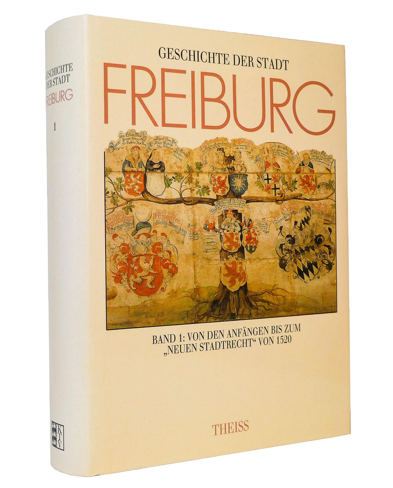 Geschichte der Stadt Freiburg im Breisgau, Band: Haumann, Heiko [Hg.];