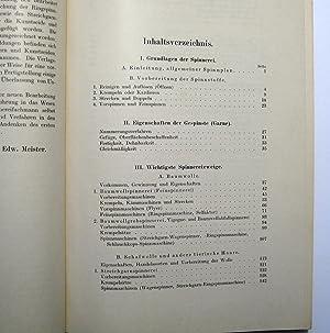 Die Spinnerei in technologischer Darstellung : Ein Hilfsbuch für den Unterricht in der ...