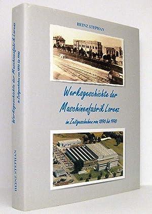 Werksgeschichte der Maschinenfabrik Lorenz im Zeitgeschehen von 1890 bis 1990: Stephan, Heinz