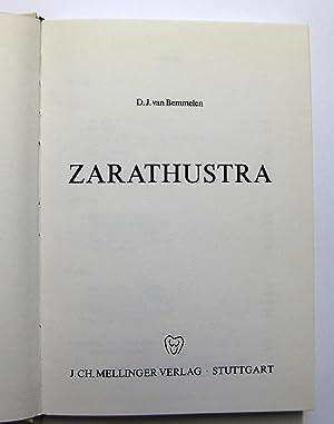 Zarathustra: Bemmelen, Daniel J. van