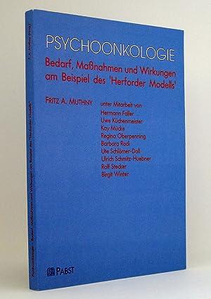 Psychoonkologie [Psycho-Onkologie] : Bedarf, Maßnahmen und Wirkungen am Beispiel des »Herforder ...