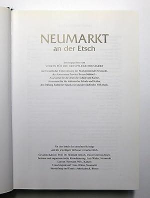 Neumarkt an der Etsch - Vergangenheit und Gegenwart : Herausgegeben vom Verein für die Ortspflege ...
