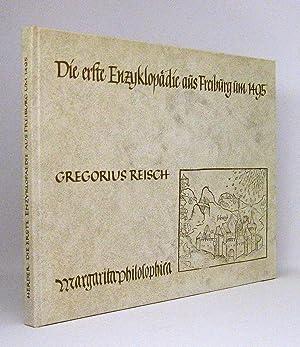 Die erste Enzyklopädie aus Freiburg um 1495 : Die Bilder der »Margarita Philosophica&...