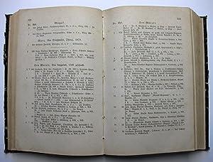 Verzeichniss [Verzeichnis] der Bürger und Niedergelassenen der Stadt Zürich im Jahr 1882: ...