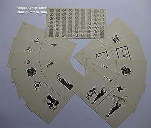 Bilder für stereoskopische Übungen zum Gebrauch für Schielende - I. [1.] Teil: ...