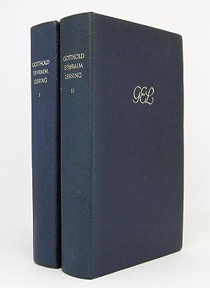 Gotthold Ephraim Lessing - Gesammelte Werke (in zwei Bänden) : Herausgegeben von Wolfgang Stammler:...