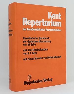 Repertorium der homöopathischen Arzneimittellehre : Unveränderter Nachdruck der deutschen ...