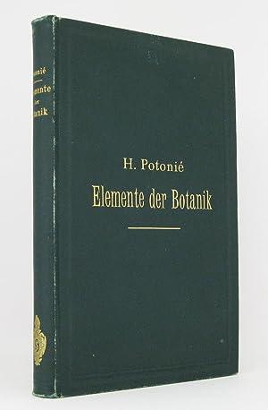 Elemente der Botanik: Potonié, Henry