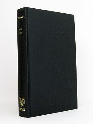 Herodoti Historiae Libri I-IV [1-4] : Recognovit: Herodotus (Herodot); Hude,