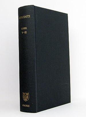 Herodoti Historiae Libri V-IX [5-9] : Recognovit: Herodotus (Herodot); Hude,
