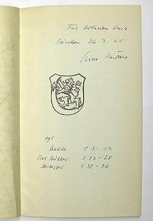 Martin Heidegger - 26. September 1959 : Ehrenbürgerrecht-Verleihungsurkunde für Martin Heidegger ...
