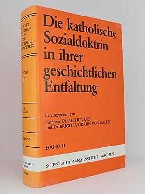 Die katholische Sozialdoktrin in ihrer geschichtlichen Entfaltung, Band I bis IV (komplett): Eine ...
