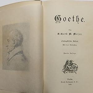 Goethe : Preisgekrönte Arbeit : (Reihe: Geisteshelden. Führender Geister - Eine Sammlung von ...