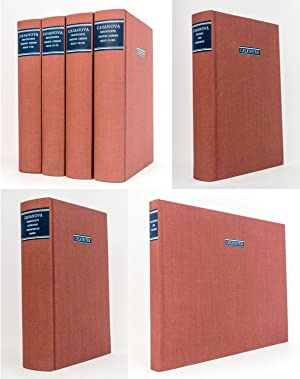 Zweitausendeins Casanova Ausgabe in sieben [7] Bänden : Herausgegeben und eingeleitet von Erich ...