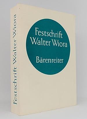 Festschrift für Walter Wiora zum 30. Dezember: Finscher, Ludwig [Hg.];